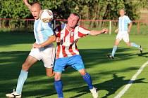 Z utkání Liblice - Býchory (0:1).