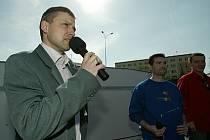 Na otázky ohledně kolínského obchvatu odpovídal místostarosta města Roman Pekárek.