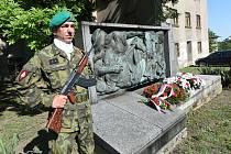 Památník osvobození v Sokolské ulici v Kolíně.