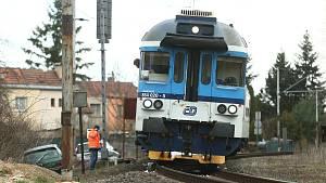 Vyšetřování události na železnici ve Velkém Oseku