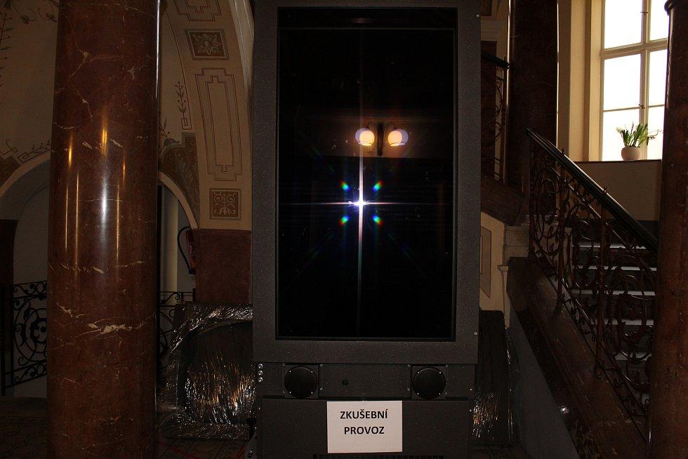 Elektronická úřední deska na kolínské radnici