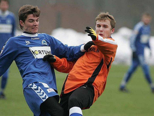 Z přípravného utkání FK Kolín - Slovan Liberec B (1:0).
