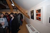 Studentky fotografického oboru Základní umělecké školy Františka Kmocha v Kolíně vystavují své fotografie v Galerii V Zahradě nacházející se přímo v podkroví umělecké školy.