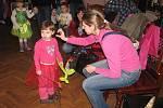 Dětský karneval v Jevanech, sobota 7. února 2015