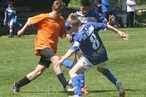 Z utkání FK Kolín U15 - Kladno (3:2).