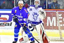 Zatímco kapitán Vrchlabí Martin Filip se může těšit na dalšího soupeře, brankář Kolína Vladislav Koutský má dovolenou. Letošní sezona pro něj skončila.