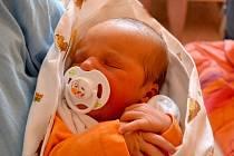 Marie Sekyrková se rozplakala 7. dubna 2014. Její první míry byly 49 centimetrů a 3195 gramů. Doma v Sadské se z ní radují maminka Gabriela, tatínek Ondřej a sedmiletý bráška Filip.