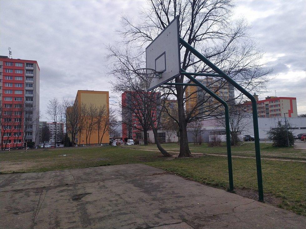 Hřiště v Seifertově ulici v Kolíně.
