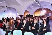 Z finále projektu Lepší místo ve škole v Kolíně, čtvrtek 8. února 2018.