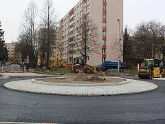Přestavba kruhových objezdů v Masarykově ulici v Kolíně