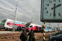 Prezentace nových souprav na Zkušebním okruhu železničním ve Velimi