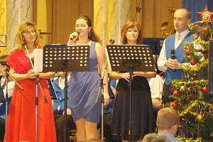 Adventní koncert Harmonie 1872 Kolín v Poděbradech.