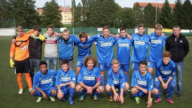 Mladí fotbalisté Kolína (U16) uhráli v Sokolově bod za remízu 1:1.