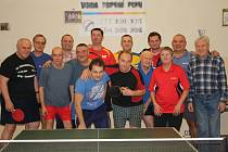 Stolní tenisté z Velkého Oseka