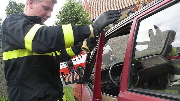 Dětskému dni vévodili dobrovolní hasiči
