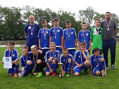 Výběr OFS Kolín skončil na krajském finále druhý.