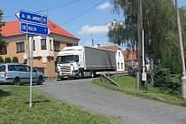 Objízdná trasa přes Kořenice