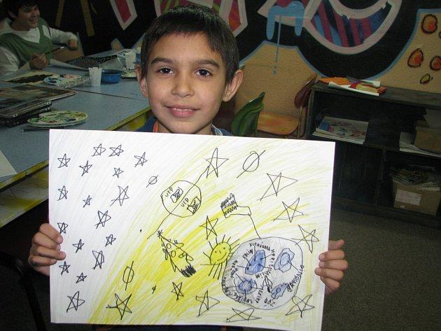 Malování vesmíru v Céčku.