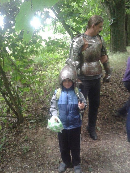 Pohádkový les si děti užily
