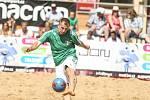 Turnaj v plážovém fotbalu v Kolíně.