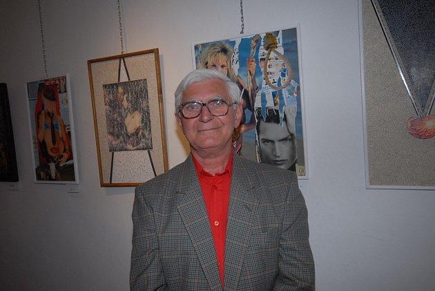 František Milichovský představil koláže