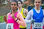 Vítězka 40. ročníku běžeckého závodu Pečecká desítka: Gashine Beyene Genet.