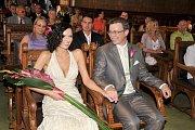 Novomanželé Holubovi
