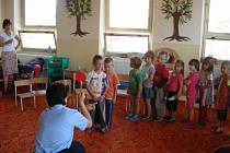 Beseda v Mateřské školce Ovčáry