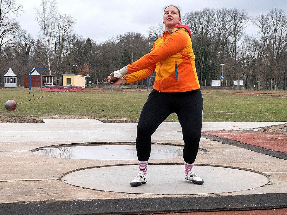 Atletka Kateřina Šafránková.