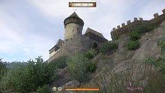 Talmberk - pohled ze hry