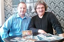 DJ Jožka Nowok (vlevo) s Lubošem Votroubkem organizovali celou řadu událostí.