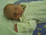Kristián Kakara se narodil 22. ledna 2018. Měřil 48 cm a vážil 2800 gramů. Maminka Dominika a tatínek Marek si ho odvezou do Kolína.