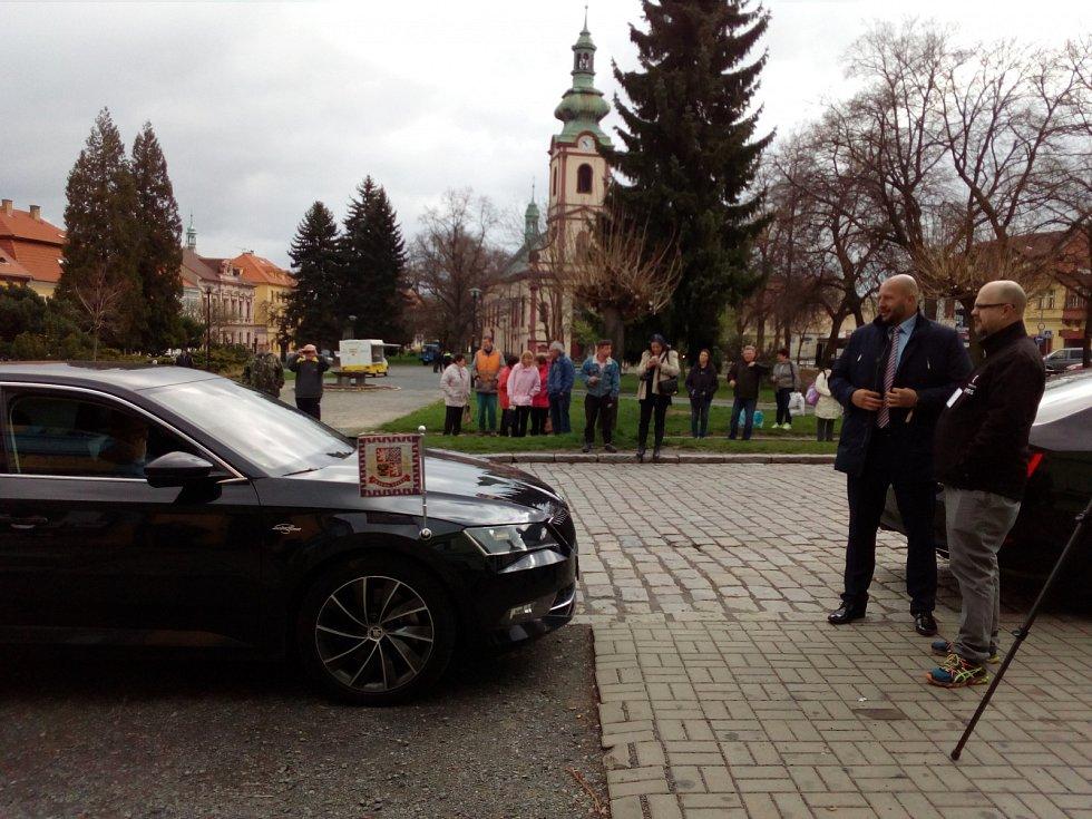 Návštěva prezidenta Miloše Zemana v Kostelci nad Černými lesy