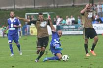 Z utkání druhé ligy FK Kolín - Znojmo (0:4).