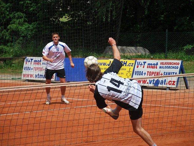 Z utkání Český Brod - České Budějovice (6:4).