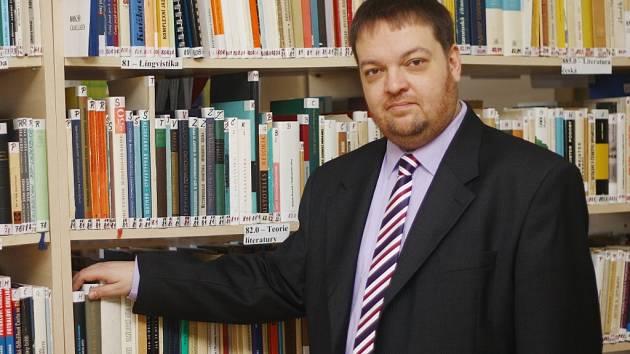 Kolínský politolog Vladimír Srb