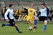 Z utkání Litvínov - Český Brod (0:0).
