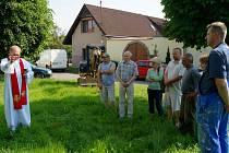 Obec zahájila stavbu kapličky