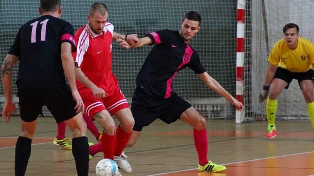 Z utkání Krampol Kolín - Býchory (4:4).