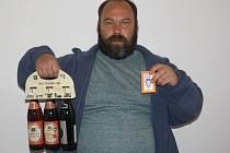 Václav Mikšovský vyhrál karton pivo značky Rohozec a permanentku na domácí utkání kolínských hokejistů.