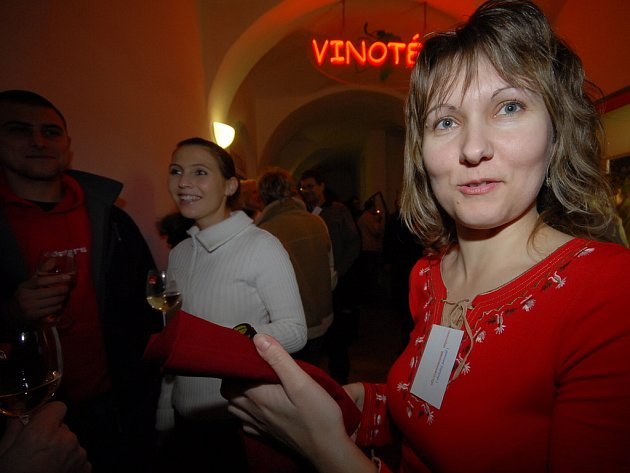 Z akce Čekání na Beaujolais 2007.