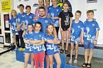 Kolínští plavci předvedli v Plzni skvělé výkony.