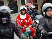 Vánoční výjezd motorkářů pod taktovkou Kolínské verbeže