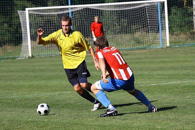 Z utkání FK Kolín B - Liblice (1:1).