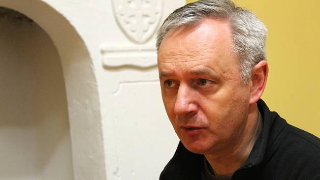 Jan Halama, farář Římskokatolické farnosti v Kolíně.