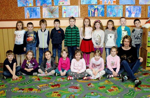 Základní škola Týnec nad Labem, třída I.Asučitelkou Petrou Pánkovou