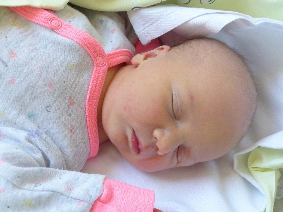 Eliška Borovičková se narodila 17. listopadu 2020 v kolínské porodnici, vážila 3200 g a měřila 50 cm. Do Loukonos odjela s bráškou Honzíkem (2.5) a rodiči Monikou a Tomášem.