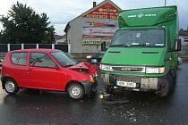 Dopravní nehoda Na Louži. 23. srpna 2010