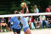 Turnaj v plážovém volejbalu v Červených Pečkách