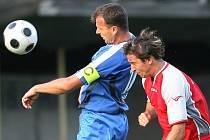 Z utkání FK Kolín – Holice
